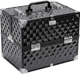 S.O.H.O New York Digital Diamond Large Black Vanity Case