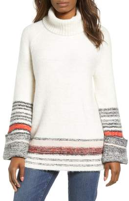 Caslon Border Stripe Sweater