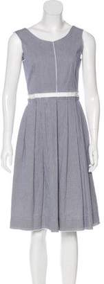 Dolce & Gabbana Sleeveless Pleated Dress
