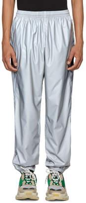 Balenciaga Silver Reflective Track Pants
