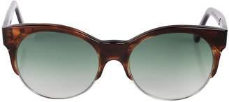 Cat Eye Cutler And Gross Frame Sunglasses