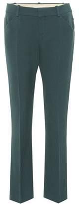 Chloé Slim wool-blend trousers