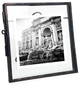 ISAAC JACOBS Antique Locket Picture Frame - Bronze