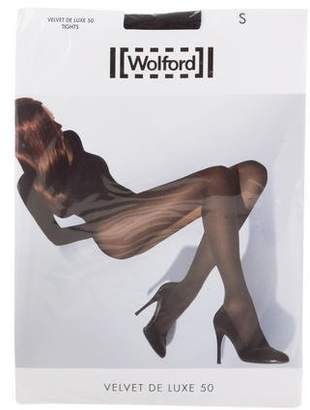 053fa64d83d3e Wolford Velvet De Luxe 50 Tights w/ Tags
