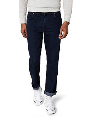 348315c6 at Amazon.co.uk · Wrangler Men's TEXAS - CONTRASTS Straight Fit Jeans, Blue  (Blue Black Stretch 001)