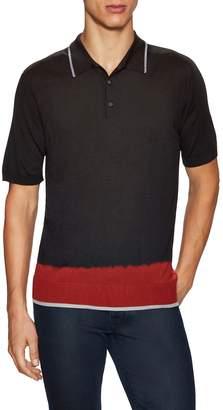 Lanvin Men's Spread Collar Polo