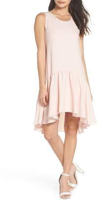 Chelsea28 Ruffle Hem Swing Dress