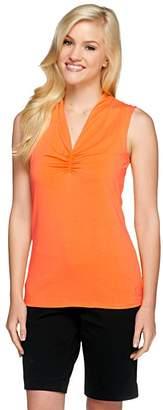 Liz Claiborne New York Essentials V-Neck Knit Top
