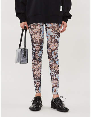 Baum und Pferdgarten Jazzlyn high-rise floral-print mesh leggings