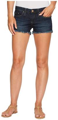 Blank NYC Dark Denim Cut Off Shorts in Da Fuq Women's Shorts