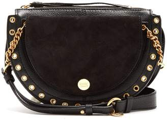 See by Chloe Kriss suede and leather cross-body bag