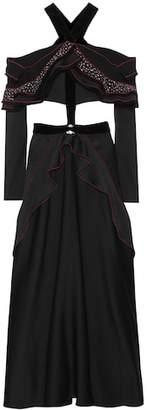Proenza Schouler Ruffled maxi dress