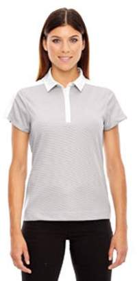 Ash City - North End Ladies' Symmetry UTK cool?logik Coffee Performance Polo