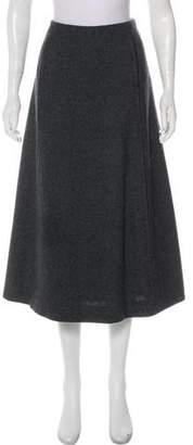 Marc Jacobs Wool Midi Skirt