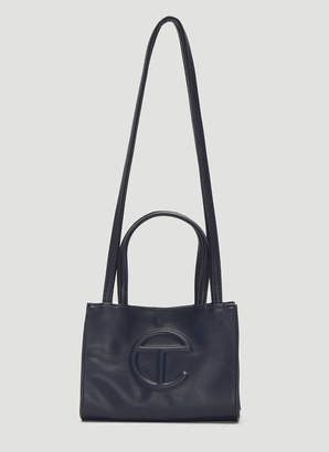 Telfar Small Shopping Bag in Navy