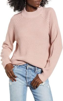 Vero Moda Mock Neck Shaker Sweater