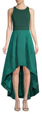Eliza J Sleeveless High-Low Gown