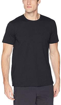Peak Velocity Men's Performance Cotton Short Sleeve Quick-dry Loose-Fit T-shirt