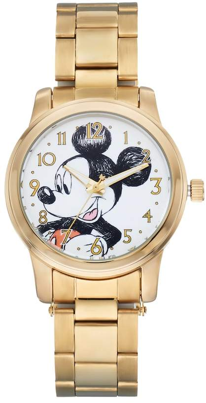 Disney Disney's Mickey Mouse Men's Stainless Steel Watch