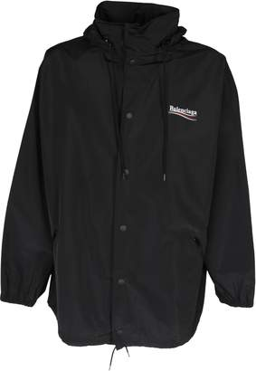 Balenciaga Hooded Raincoat