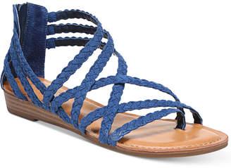 Carlos by Carlos Santana Amara Braided Flat Sandals Women Shoes