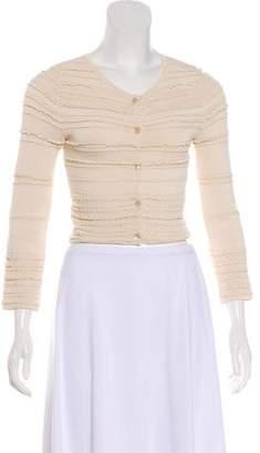 Christian Dior Long Sleeve Cardigan