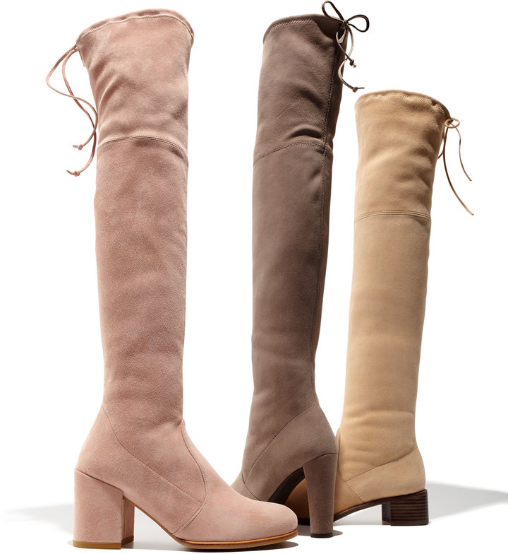 Stuart Weitzman Highland Suede Over-The-Knee Boot 2