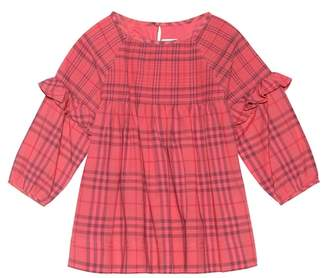 Burberry Checked cotton dress