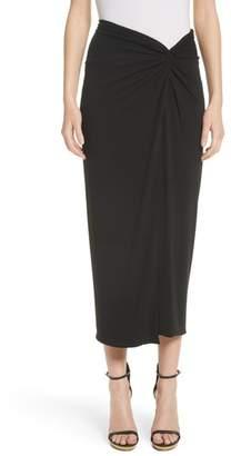 Michael Kors Sarong Midi Skirt