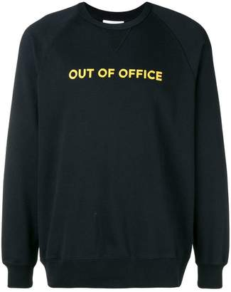 Wood Wood Hester Out of Office sweatshirt