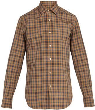THE GIGI Plaid cotton shirt