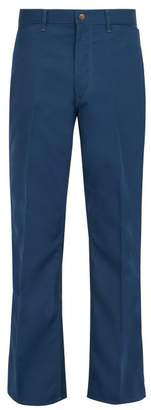 Needles - Boot Cut Trousers - Mens - Blue