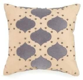 Jessica Simpson Puebla Stud Throw Pillow