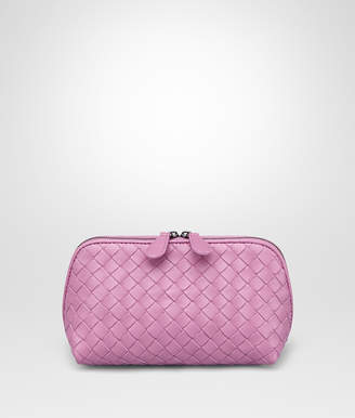Bottega Veneta TWILIGHT INTRECCIATO NAPPA COSMETIC CASE