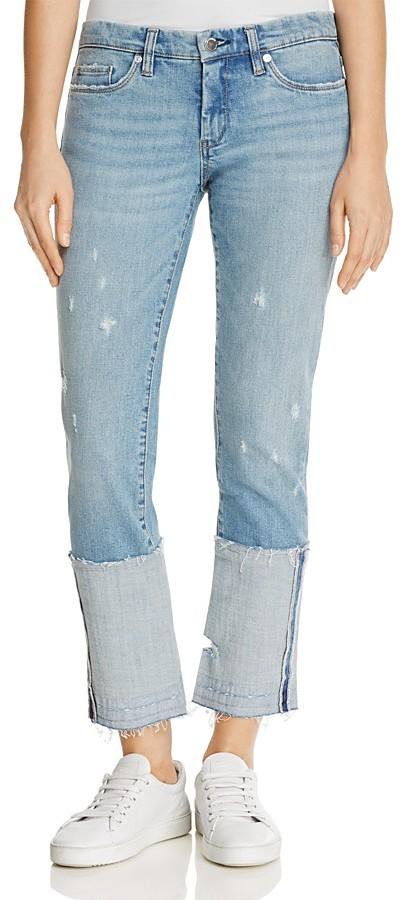 Blank NYCBLANKNYC Deep Cuff Jeans in Closet Case