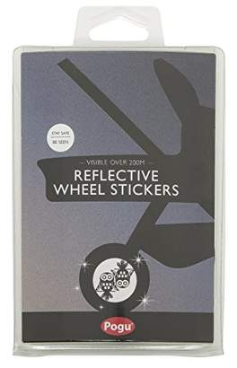 Pogu Reflective Pushchair Wheel Stickers, Owl