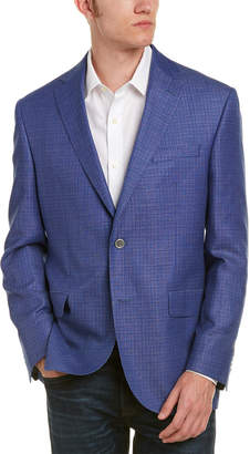 David Donahue Connor Classic Fit Wool & Linen-Blend Sportcoat
