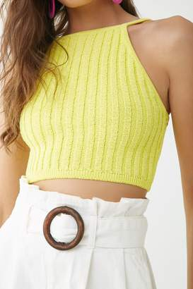 Forever 21 Square Neck Cropped Cami