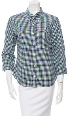 Boy. by Band of Outsiders Flannel Button-Up Top $65 thestylecure.com