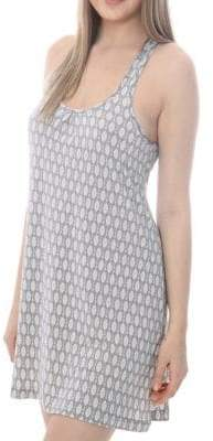 Catherine Malandrino Printed Jersey Dress