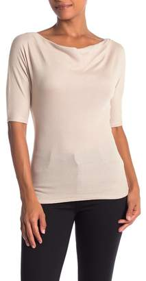 Michael Stars Drape Neck Top