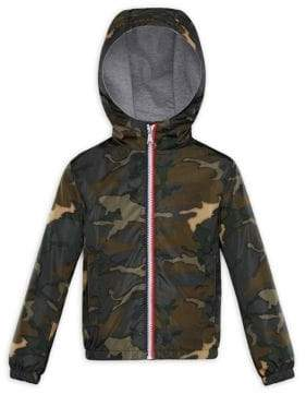 at Saks Fifth Avenue Moncler Little Boy's & Boy's New Urville Imprime Camo-Print Jacket