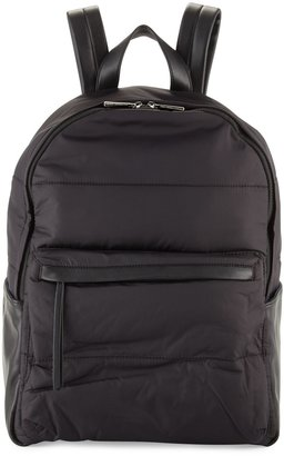 French Connection Gia Nylon Backpack, Black $75 thestylecure.com