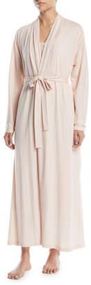 Skin Kiera Long Organic Cotton Jersey Robe
