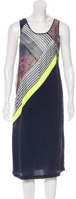 Preen by Thornton Bregazzi Printed Midi Dress