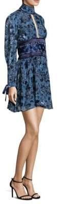Luella Misha Collection Floral Fit-&-Flare Dress