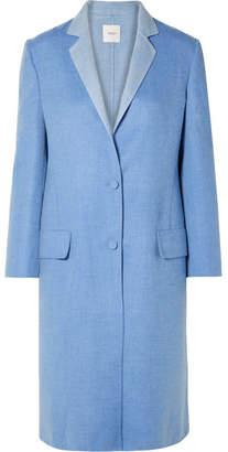 Agnona Century Cashmere Coat - Blue