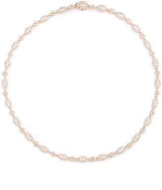 Roberto Coin 'Diamond Classic' 18k rose gold link necklace