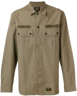 Carhartt logo chest patch shirt