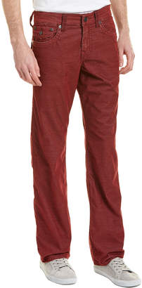 True Religion Ricky Oxblood Relaxed Straight Leg